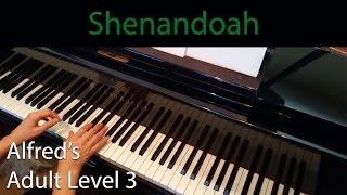 Shenandoah (Intermediate Piano Solo) Alfred's Adult Level 3