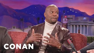 Terry Crews Eats Fruity Pebbles Before Bed  - CONAN on TBS