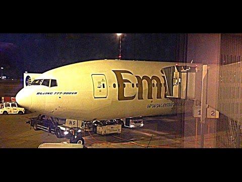 *SPECIAL* Emirates Flight Report : EK057 Dubai to Dusseldorf Boeing 777-300ER (1080p) SamyTravels