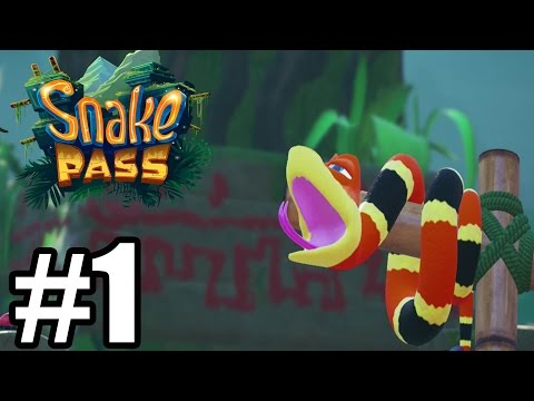 Snake Pass Gameplay Walkthrough Part 1 - World 1