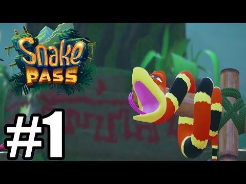 Snake Pass Gameplay Walkthrough Part 1 - World 1