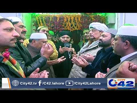 Mehfil Zikr o Naat at Data Darbar due to new year