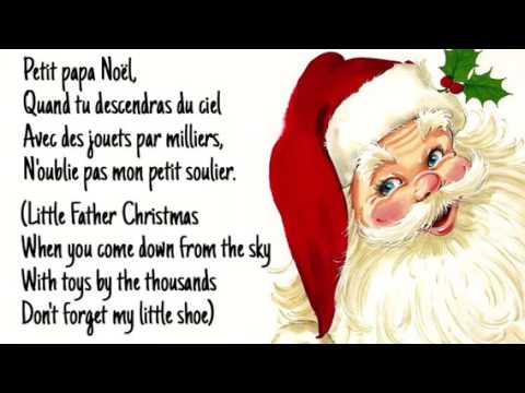 Petite Papa Noel Petit Papa Noël (lyrics w/English sub)   Josh Groban   YouTube