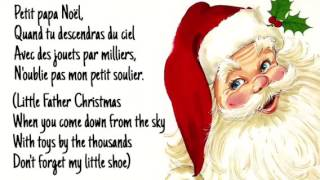 Petit Papa Noël (lyrics w/English sub) - Josh Groban