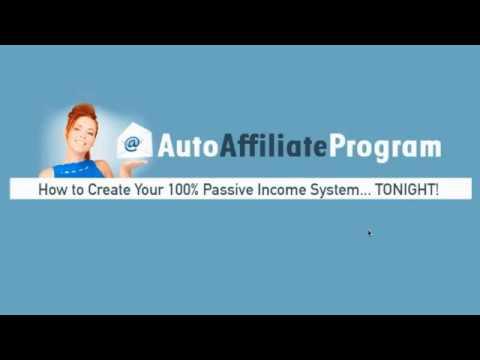 Unlimited Passive Income - Auto Affiliate Program!