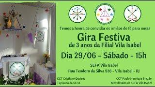 Gira Festiva de 3 anos SEFA Vila Isabel
