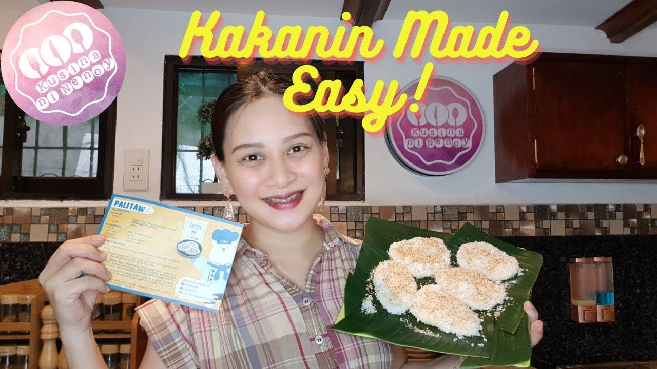 Palitaw using Polar Bear Glutinous Rice Flour|Kakanin Made ...