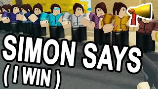 SIMON WINS in ARSENAL (ROBLOX SIMON SAYS)
