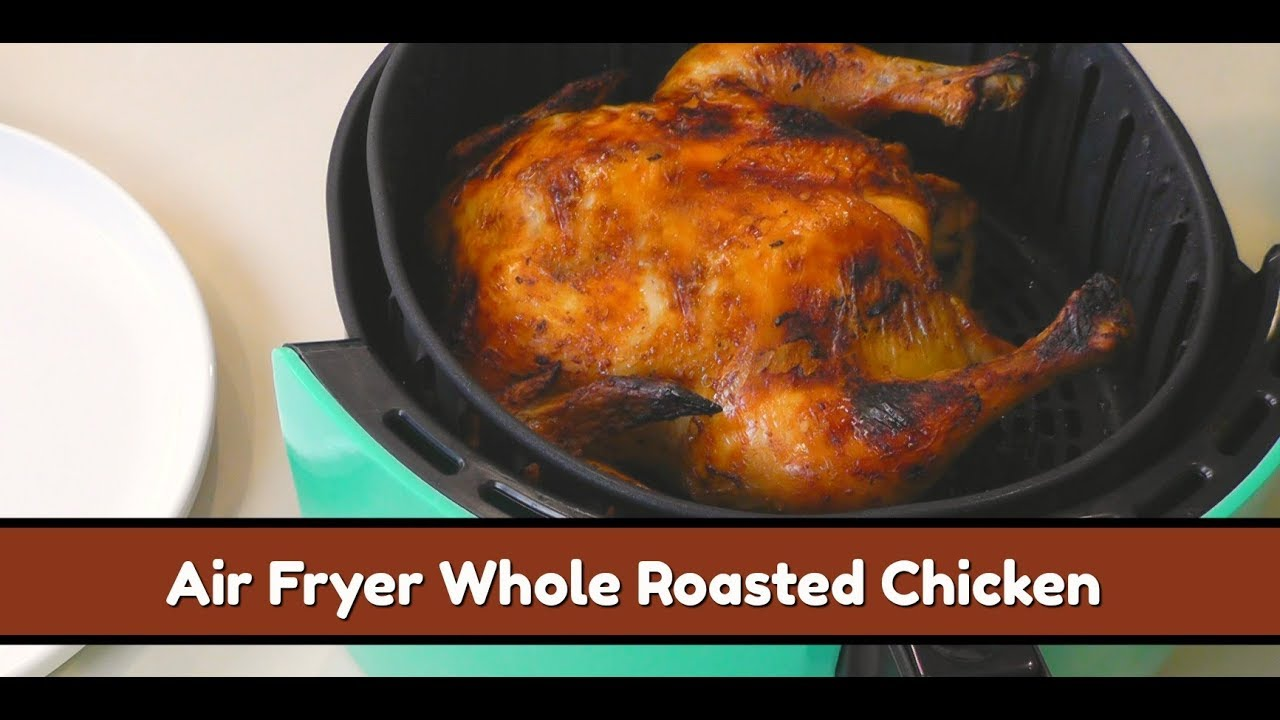 how to cook roast chicken in airfryer