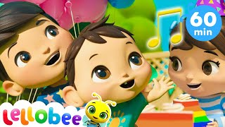 Happy Birthday Song | Party Songs | +More Nursery Rhymes | ABCs and 123s | Little Baby Bum