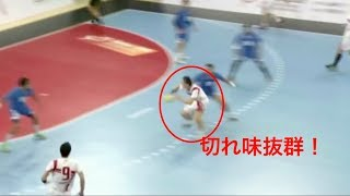 【ハンドボール】歴代日本代表ベストステップPart2 スカッとするほど見事に抜き去るステップがやばい!【日本代表】