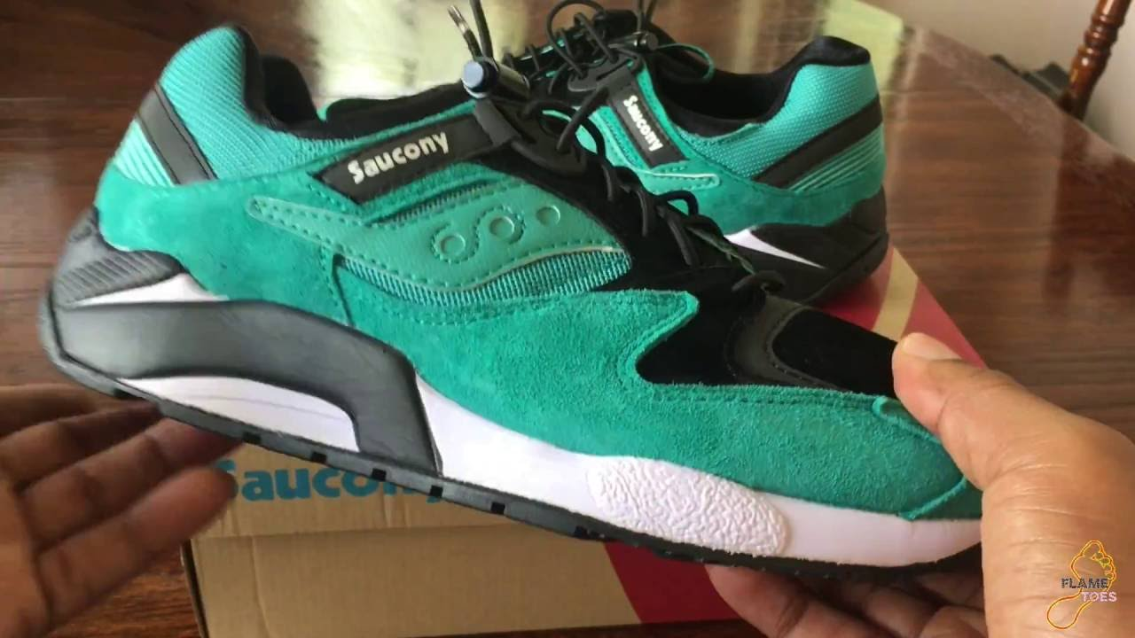 80bb6114c1d9 Saucony GRID 9000 BUNGEE PACK (Unboxing   First Look) - YouTube