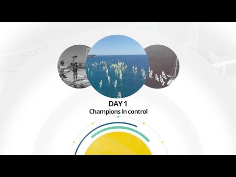 BIC Techno 293+ Europeans 2018 - DAY 1