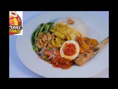 Nasi Bali SUKRENI - Nasi Campur Khas Bali Spesial Ayam dan Ikan (Halal)
