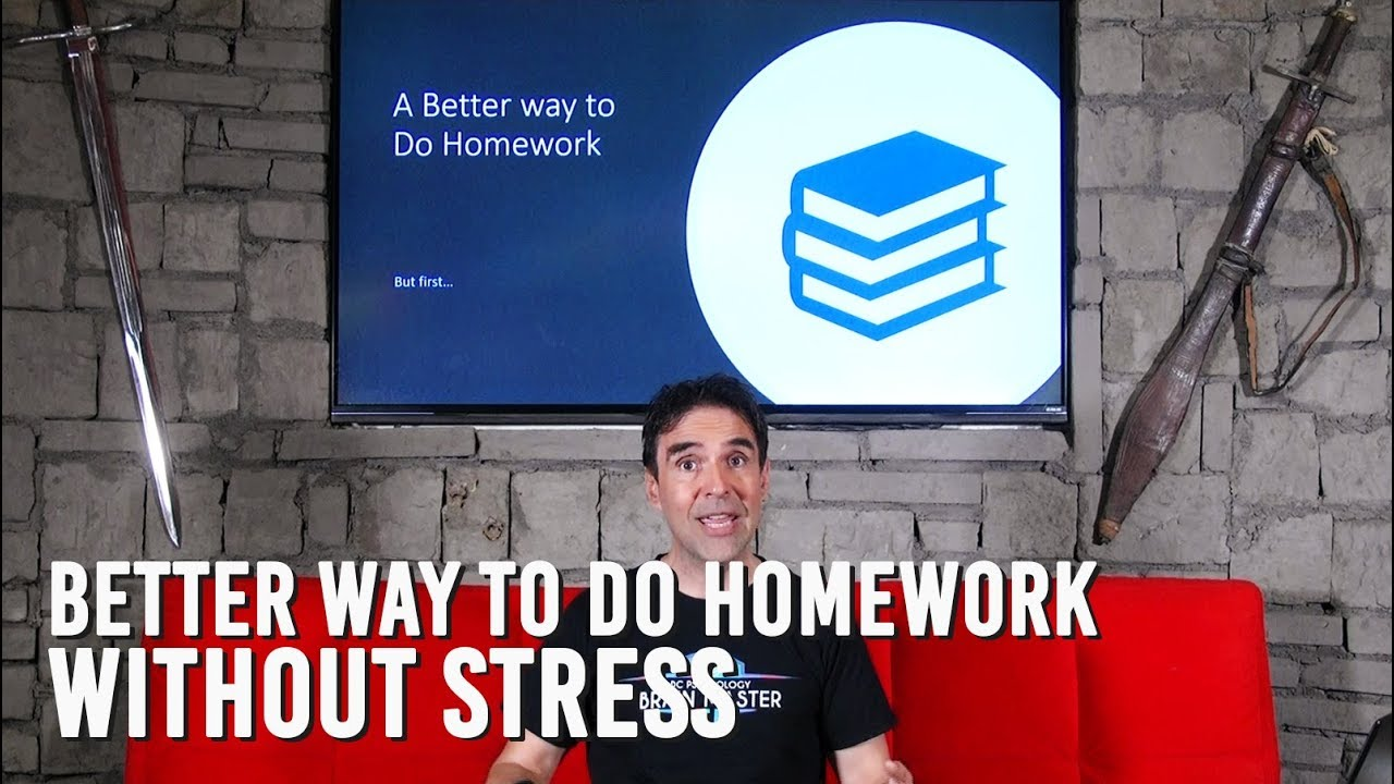 how to deal with homework stress