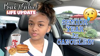DRIVE WITH ME: My Senior Year is Canceled | ChickFil-A Mukbang | LexiVee03