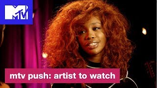 """SZA on CTRL & Getting Into Music Because She """"Didn't Suck""""   Push: Artist to Watch   MTV"""