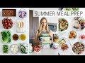 Download Video MEAL PREP for SUMMER | light & fresh recipes + PDF guide MP4,  Mp3,  Flv, 3GP & WebM gratis