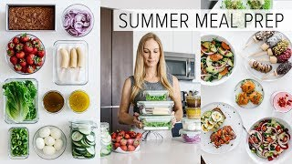 Download Mp3 Meal Prep For Summer | Light & Fresh Recipes + Pdf Guide