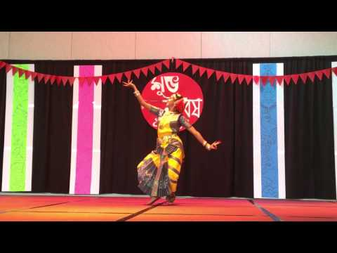 Subhalakshmi: Classical dance Dheem Ta Dare at University of Louisville, KY USA