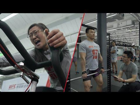 Inside the UFC Academy Combine in Shanghai