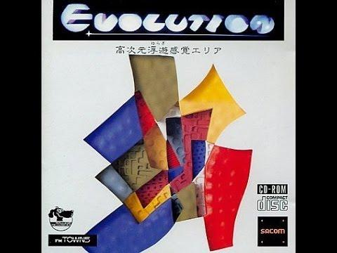 【FM TOWNS】 エヴォリューション 【BGM】 Evolution (SOUNDTRACK - OST - MUSIC - 1989) System Sacom