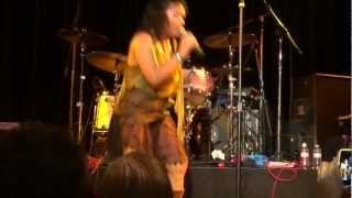 Annabella Lwin of Bow Wow Wow - Do You Wanna Hold Me? (Live 24 January 2013)