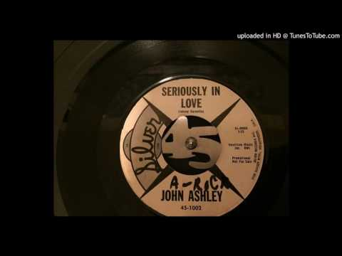 John Ashley  Seriously In Love Silver