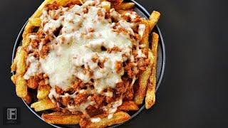 Homemade Cheese Taco Fries Recipe
