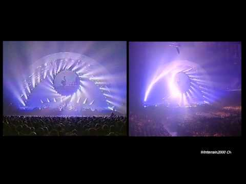 Pink Floyd - Us and Them / Any Color 1080p HD PULSE 1994
