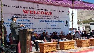 Only Modi Can Fulfill Aspirations Of Ladakhi People: Kiren Rijju