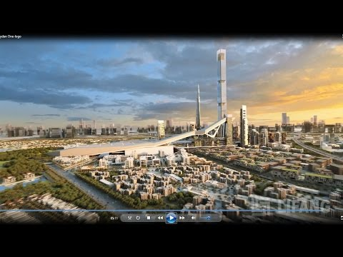 Meydan One Master Plan, Dubai - Architectural CGI animation