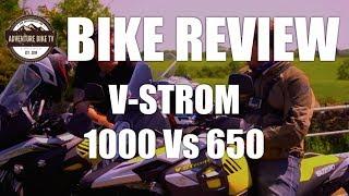 BIKE TEST: Suzuki V-Strom 1000 Vs. 650