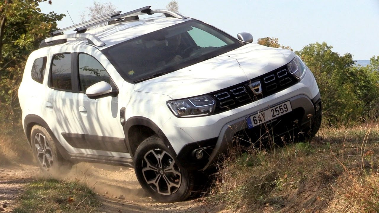 new dacia duster 2018 4x4 driving footage real. Black Bedroom Furniture Sets. Home Design Ideas