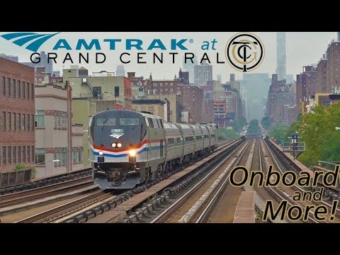 Amtrak at Grand Central - Onboard and More Hotspots Around NYC!