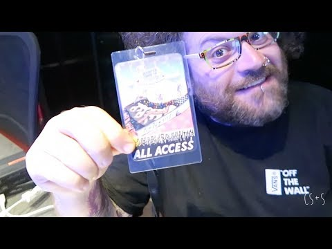 WHAT TO DO WITH ALL ACCESS PASSES TO WARPED TOUR?