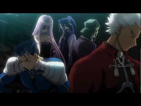 Fate/Stay Night Opening 2 with Lyrics + Ger Sub