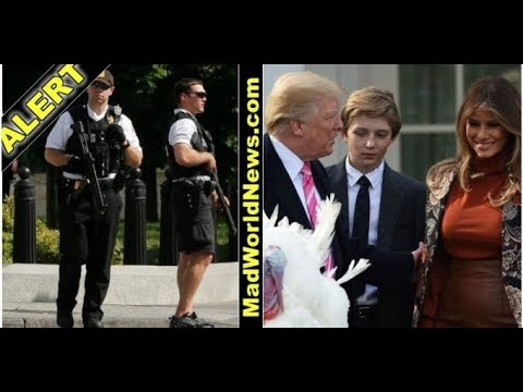 AS BARRON HELPED DAD PARDON WH TURKEY SHOCKING DETAILS SHOW HIS YOUNG LIFE IS IN DANGER!