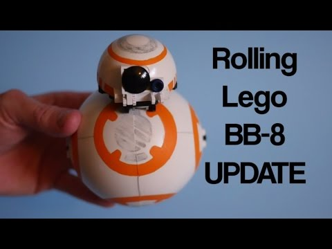 Rolling lego bb 8 design update 01 youtube for Bb design