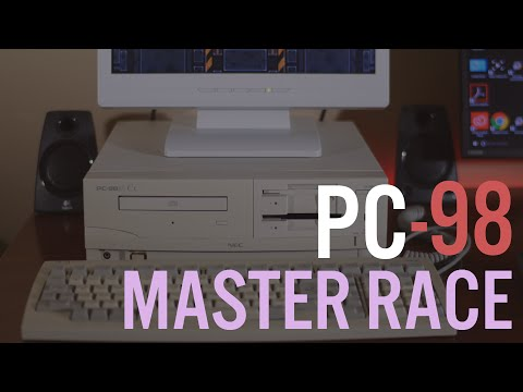 Japanese Retro Computing : The NEC PC-9821 Home Computer