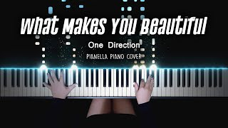 One Direction - What Makes You Beautiful   Piano Cover by Pianella Piano