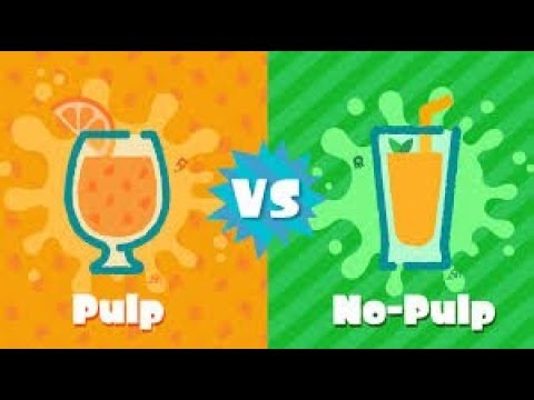 Ew. Pulp. (Splatoon 2 Pulp vs No Pulp Splatfest!)