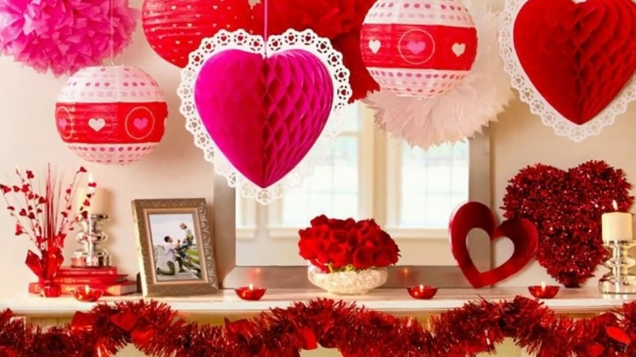 decoracion de globos dia de san valentin - youtube