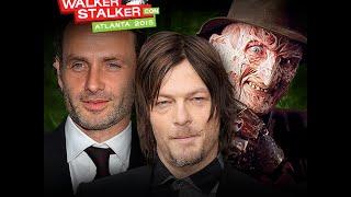 Walker Stalker Convention Atlanta 2015 The Walking Dead Convention