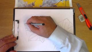 Как рисовать листья клёна. Часть 1. Урок 32