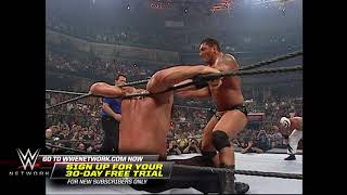 The Great Khali vs. Batista vs. Rey Mysterio : Unforgiven 2007 (WWE Network Exclusive)