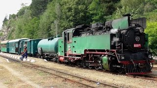Rhodope Mountain Railway, Part 1 - forward facing and on train cameras