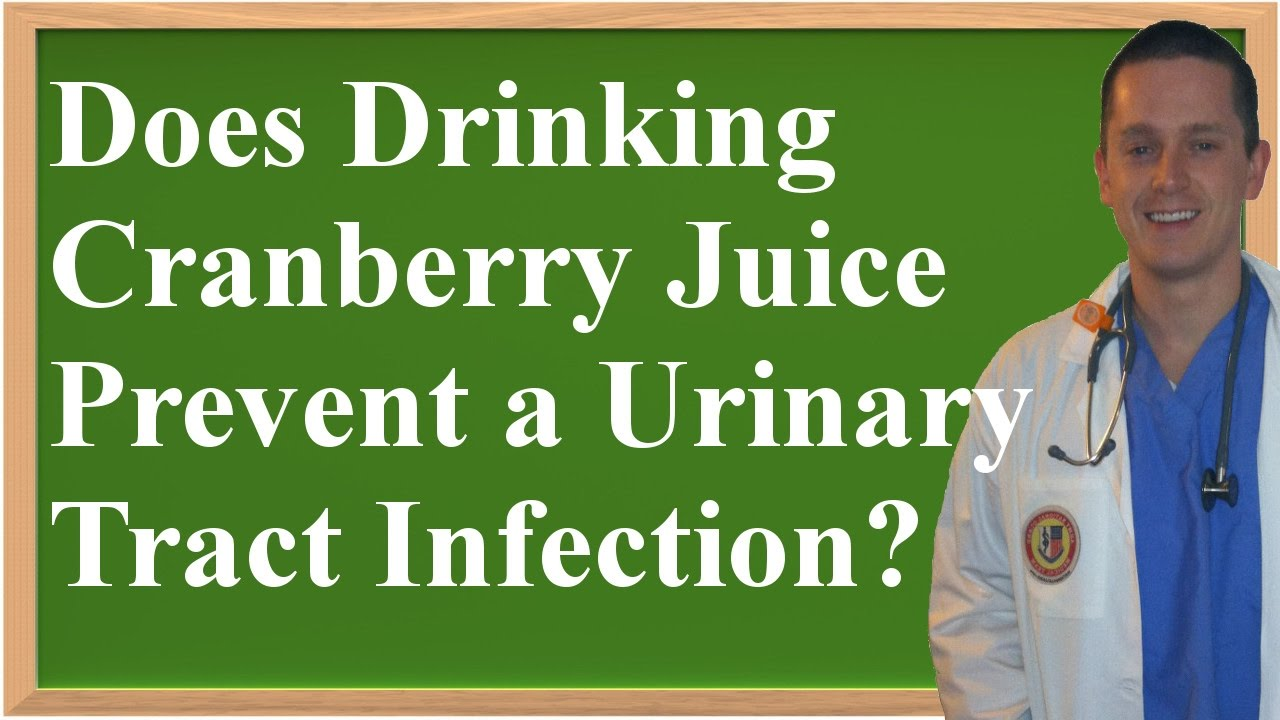 Does Drinking Cranberry Juice Help With Uti