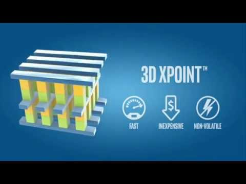 Intel and Micron unveiled 3D Xpoint Technology, a Faster Non-volatile Memory