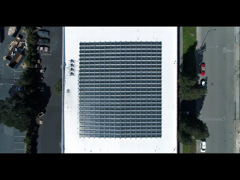 Morgan Hills Commercial PV Project - 136kW DC, 400 Solar Panel